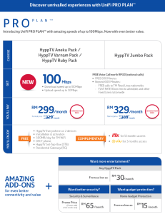 Unifi 100Mbps promotion