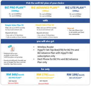 unifi biz promotion 2017 nov