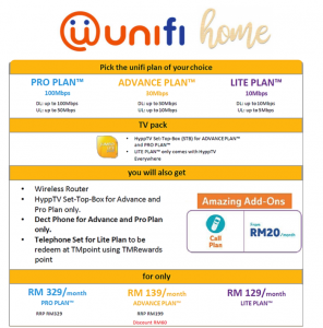 unifi promotion