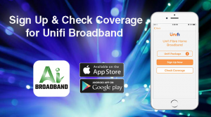 Unifi fibre broadabnd app